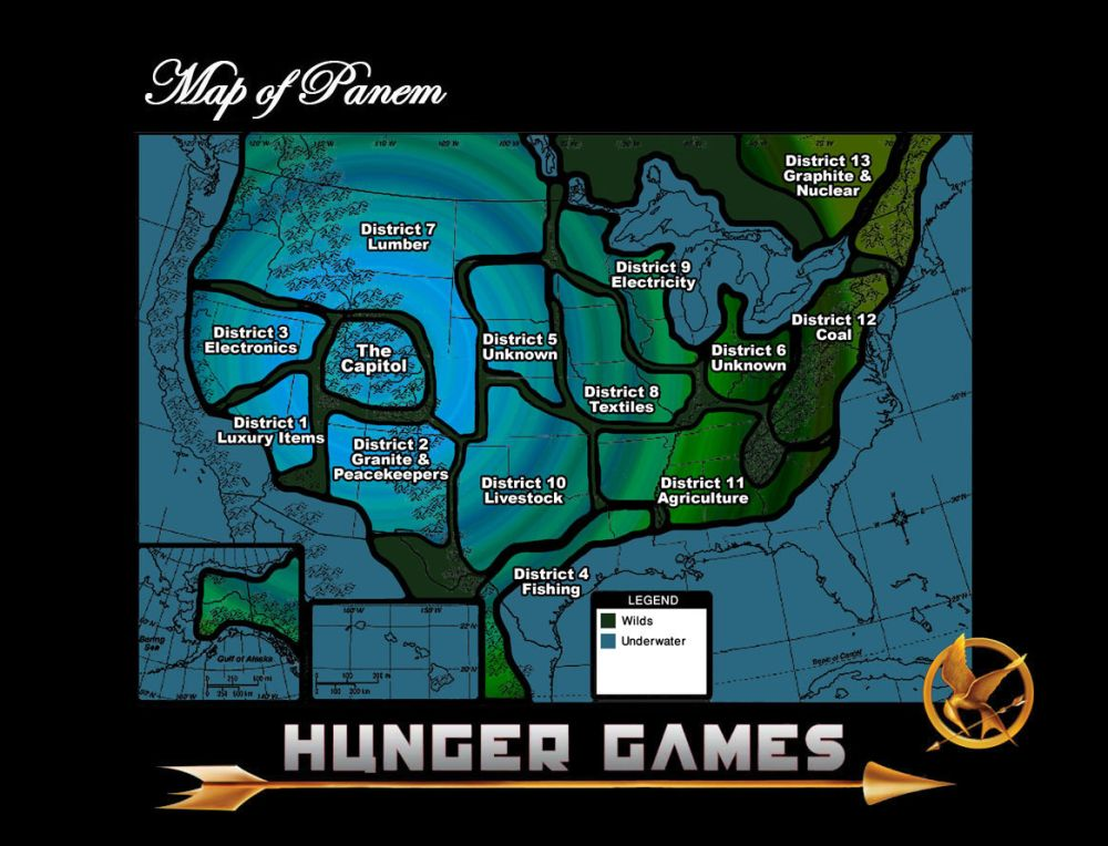 Hunger games tome 1, Suzanne Collins (2009) (2/2)