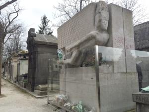 La tombe d'Oscar Wilde
