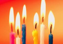 six bougies anniversaire blog